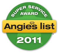 Winner 2011 Super Service Award